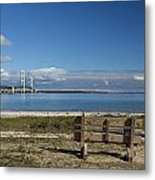 Big Mackinac Bridge 70 Metal Print