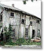 Big Old Barn - Rustic - Agricultural Buildings Metal Print by Gary Heller