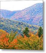Big Pisgah Mountain In The Fall Metal Print