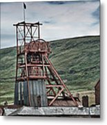 Big Pit Colliery Metal Print