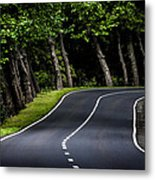 Big  Road Metal Print