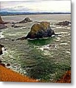 Big Rock Beach Metal Print