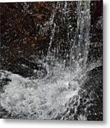 Big Rock Falls Metal Print