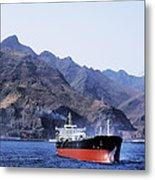 Big Ship Non Atlantic Ocean Metal Print
