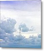 Big Sky Caye Caulker Belize Metal Print