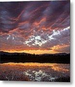Big Sky Sunrise Metal Print