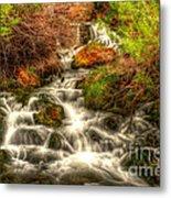 Big Spring In Sheep Creek Canyon Metal Print