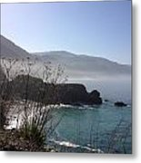 Big Sur Beach Metal Print