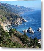 Big Sur Coast Ca Metal Print