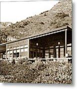 Big Sur Hot Springs Now The Esalen Institute California Circa 1961 Metal Print