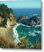 Big Sur Little Cove Metal Print