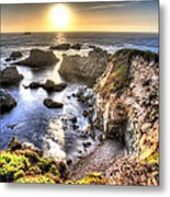 Big Sur Sunset Metal Print by Shawn Everhart