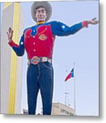 Big Tex And The Cotton Bowl  Metal Print