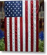 Big Usa Flag 2 Metal Print