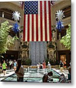 Big Usa Flag 3 Metal Print