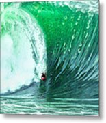 Big Wednesday At The Wedge Metal Print