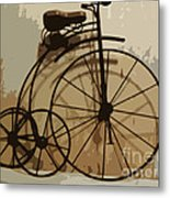 Big Wheel Trike Metal Print