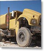 Big Wheels Not Rollin Water Truck Metal Print