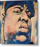 Biggie Smalls Art Painting Poster Metal Print