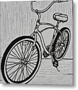 Bike 6 Metal Print by William Cauthern