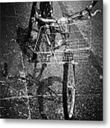 Bike Ride Friend  Metal Print