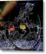 Bike Rider - Canada To Charleston To New Orleans Metal Print