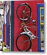 Bike Shop Metal Print