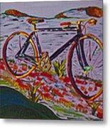 Bike Study Metal Print