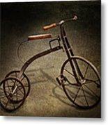 Bike - The Tricycle  Metal Print by Mike Savad