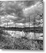 Bike Trail Off-season Metal Print