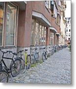 Bike Transportation Metal Print