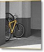 Bike With Frame Metal Print