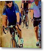 Bikers Metal Print