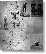 Bikezz Metal Print