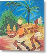Bikutsi Dance 2 From Cameroon Metal Print