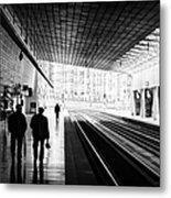 Bilbao Train Station Metal Print