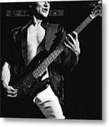 Bill Church On The Bass Metal Print