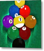 Billiards Art - Your Break 1 Metal Print