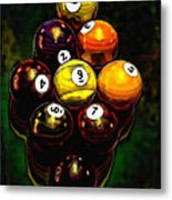 Billiards Art - Your Break 6 Metal Print
