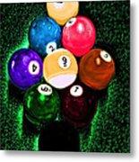 Billiards Art - Your Break Metal Print