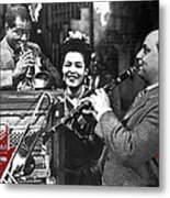 Billie Holiday Louis Armstrong Barney Bigard  New Orleans Set 1947-2010  Metal Print