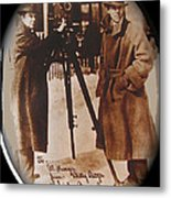 Billy Bitzer D.w. Griffith Pathe Camera Way Down East 1920-2013 Metal Print