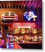 Billy Bobs - Forth Worth Metal Print