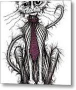 Billy The Cat Metal Print