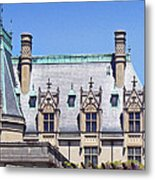Biltmore House Roof Metal Print