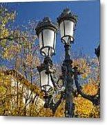Bip Rambla Streetlight Metal Print