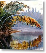 Birch Creek Beauty Metal Print by Vladimir Zhikhartsev