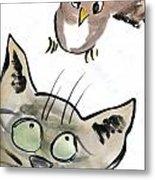 Bird Metal Print by Ellen Miffitt