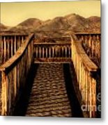 Bird Lookout-bosque Del Apache  Metal Print