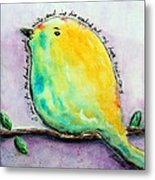 Bird Of Hope Metal Print by Lauretta Curtis